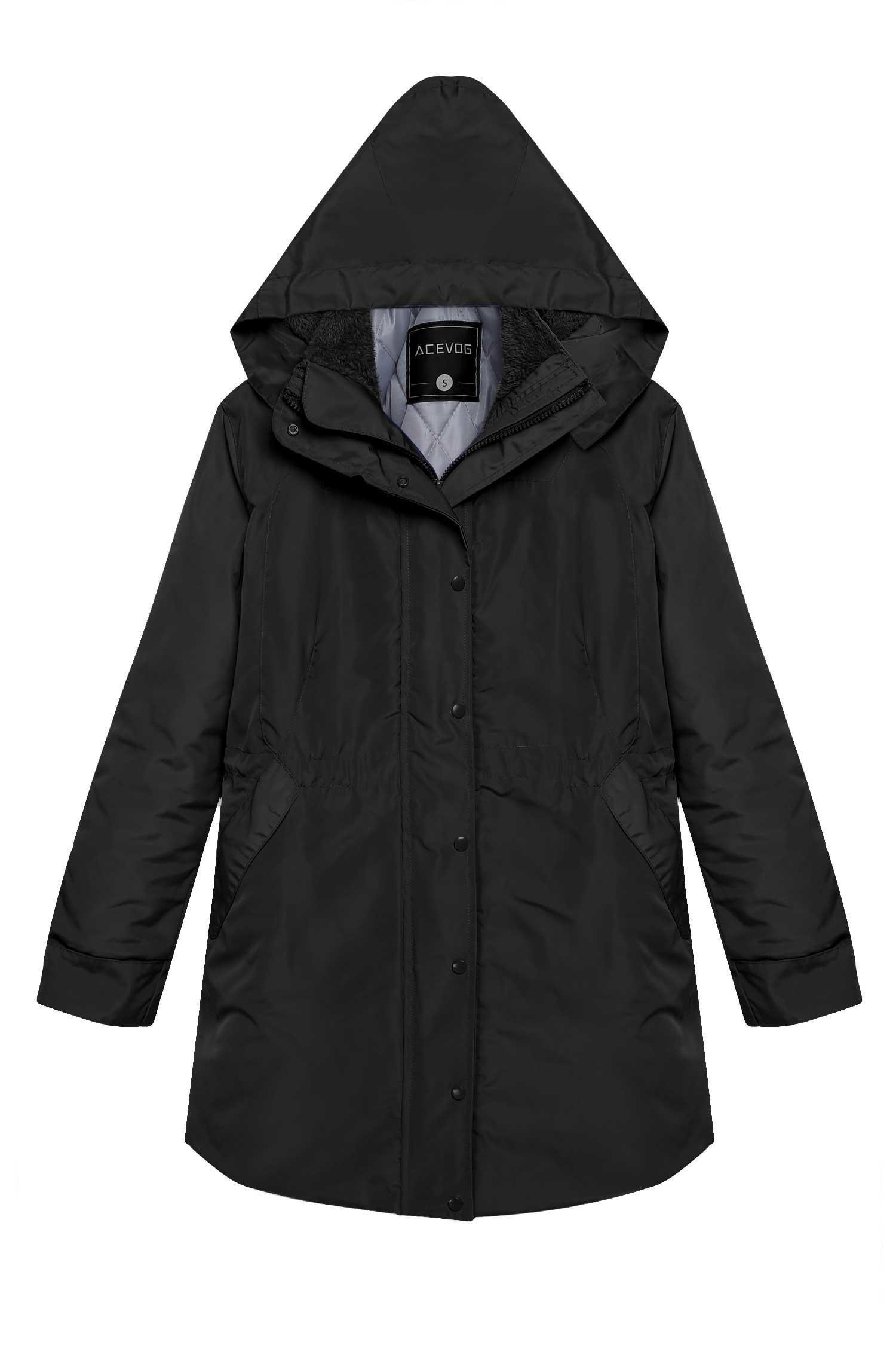 Lowest Price ever ! Women Winter Jacket Front-Zip Hooded Parka Coat Outdoor Waterproof... by