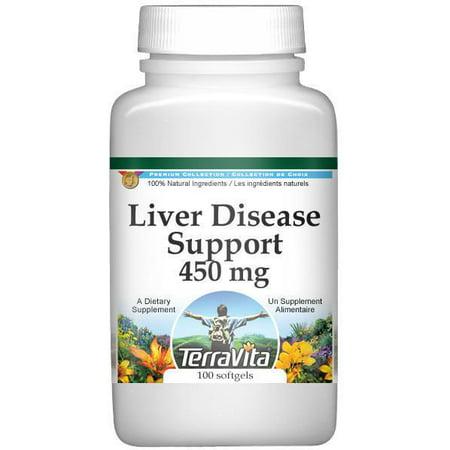 Liver Support Enfermedades - 450 mg (100 cápsulas ZIN- 517121)