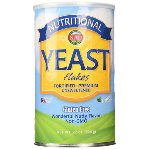 Nutritional Yeast Flakes Kal 22 oz Flake
