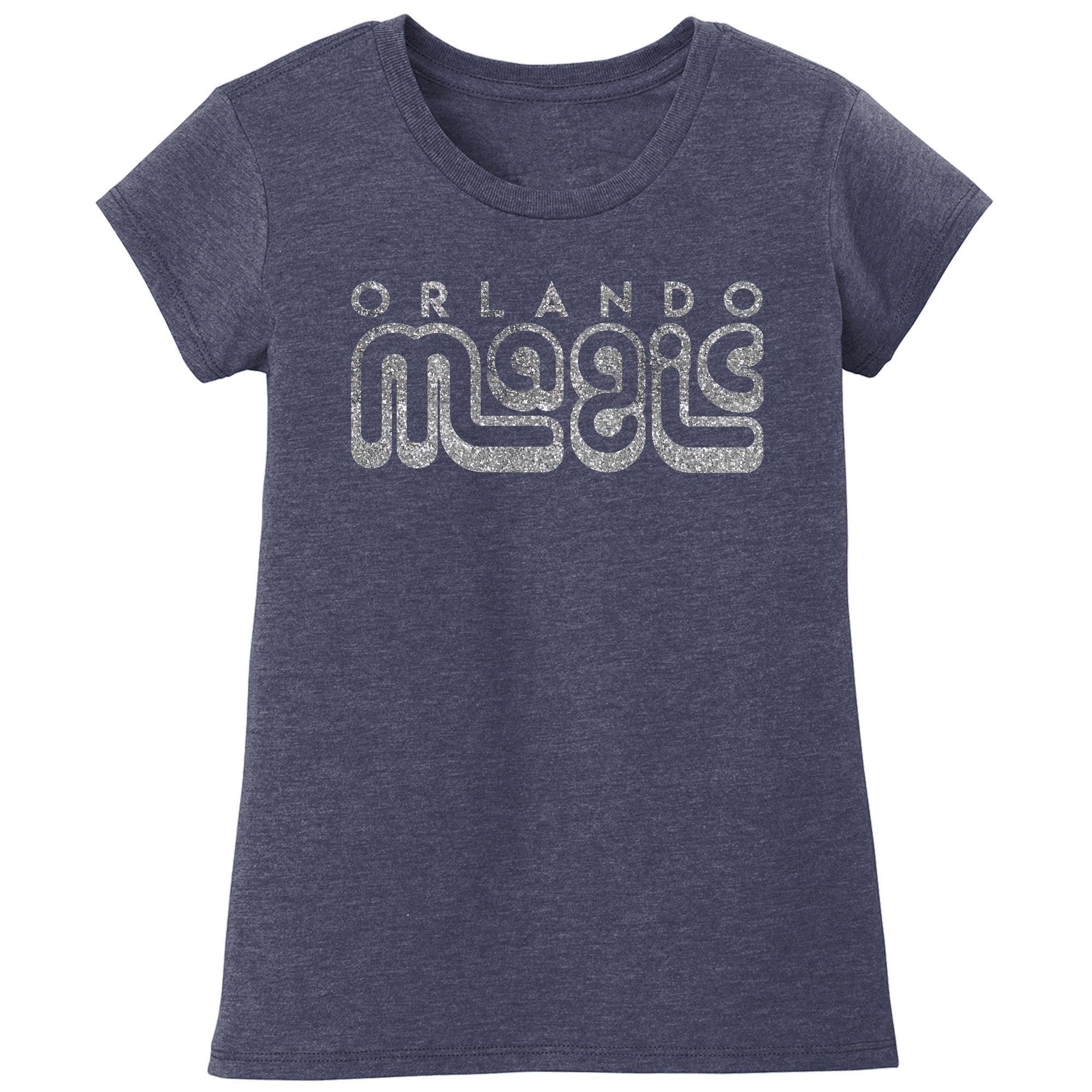 Orlando Magic Girls Youth Sugar Coat T-Shirt - Blue