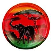 "Stoneage Arts Handmade African Sunset Soapstone Bowl (Kenya) - 4"" x 4"""