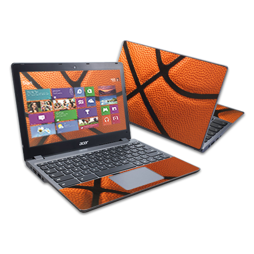"Mightyskins Protective Skin Decal Cover for Acer C720 Chromebook 11.6"" wrap sticker skins Baseball"