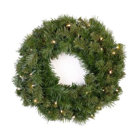 kurt adler 24 cordless led prelit christmas wreath. Black Bedroom Furniture Sets. Home Design Ideas