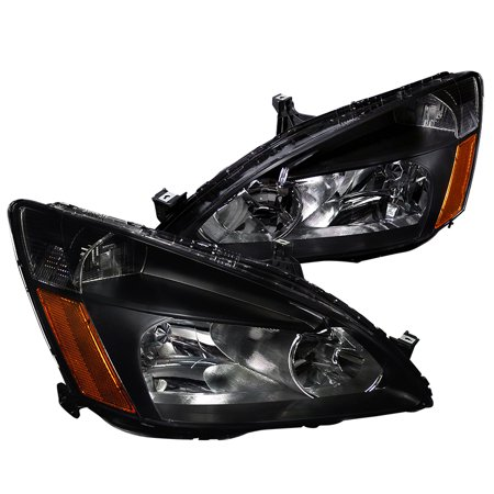 Spec D Tuning 2003 2007 Honda Accord Jdm Headlights Lamps Lx Ex 03 04 05 06 07 Left Right