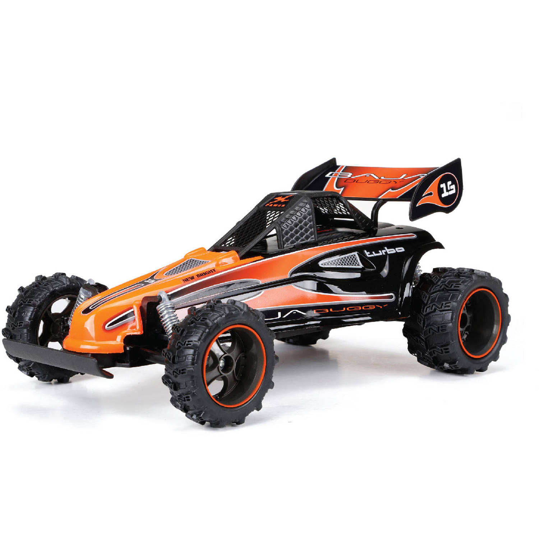 1:14 Full-Function 6.4V Baja Buggy R/C Car, Orange