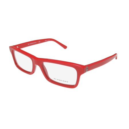 New Burberry 2187 Womens/Ladies Designer Full-Rim Red Trusted Luxury Brand Glamorous Frame Demo Lenses 53-17-140 Eyeglasses/Eye Glasses