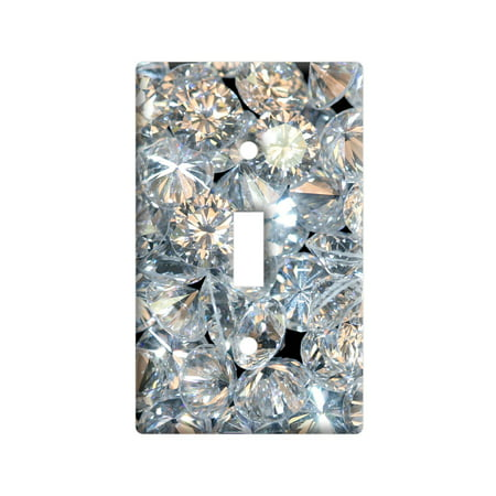 Loose Diamonds Light Switch Plate Cover - Lightswitch Cover