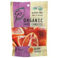 Go Organic Hard Candy, Blood Orange, 3.5 Oz, Pack Of 6