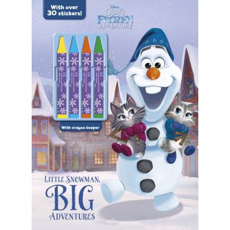 Disney Olaf's Frozen Adventure: Little Snowman, Big Adventures : With Over 30 - Olaf Stickers