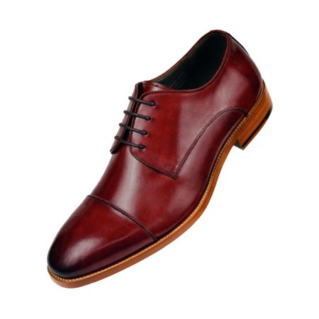 Oxford Tan Footwear (Asher Green Genuine Calf Leather Cap Toe Lace Up Oxford Dress Shoe Style AG3887 Avalible in Brown, Burgundy, Tan, & Black )
