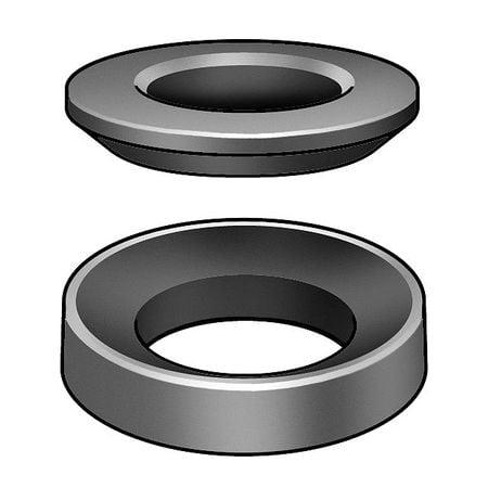 Spherical Washer (Z9520SET Spherical Washer, Stl, M6, 12mm OD,)