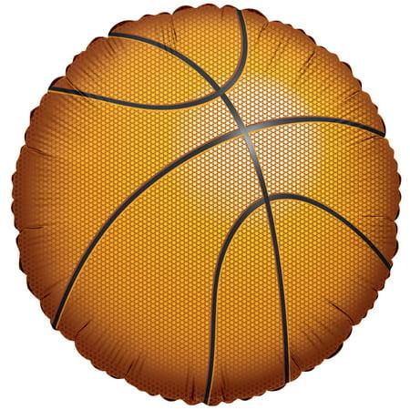 Balloon Stress Ball - Basketball Balloon 18
