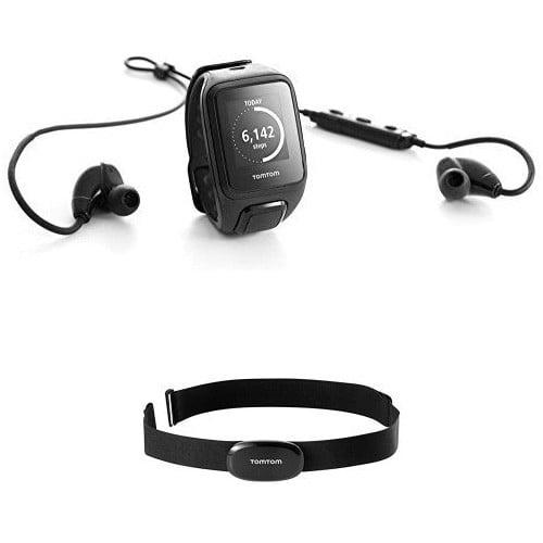 TomTom Spark Music GPS Watch Wrist Motion Sensor, Accelerometer, Gyro Sensor Calories Burned, Steps Taken, Pace,... by TomTom