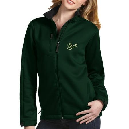 - South Florida Bulls Antigua Women's Traverse Full-Zip Jacket - Green - XL