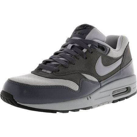 Nike Men's Air Max 1 Essential Wolf Grey / Grey-Dark Ankle-High Fashion Sneaker - 9M