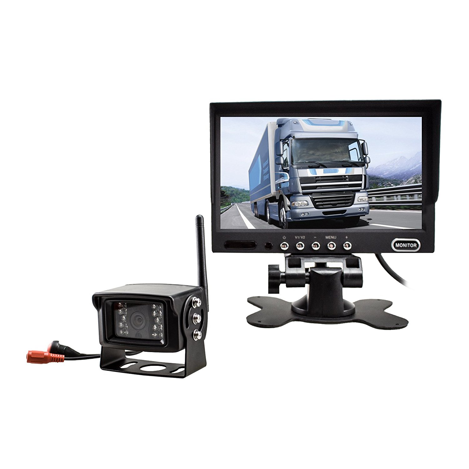 "Auto-Vox 7"" Full-color LCD Digtal Screen Monitor with Wir..."