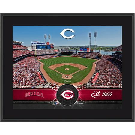 "Cincinnati Reds Fanatics Authentic 10.5"" x 13"" Sublimated Team Plaque - No Size"