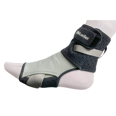 - Mueller Adjust-to-Fit Plantar Fasciitis Nighttime Foot Support, Gray, Large/Extra Large