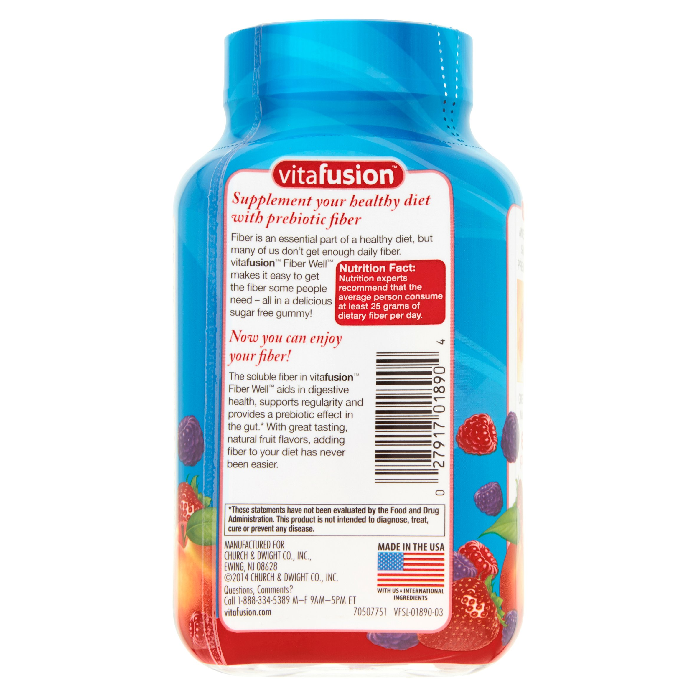 Vitafusion fiber well gummies sugar free 90 ct walmart negle Gallery