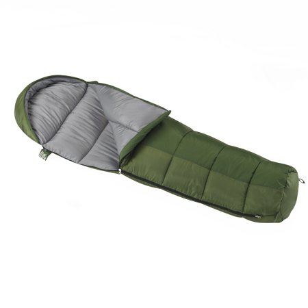 Wenzel Backyard 30-40 Degree Kids Mummy Sleeping (Cocoon Mummy Sleeping Bag)