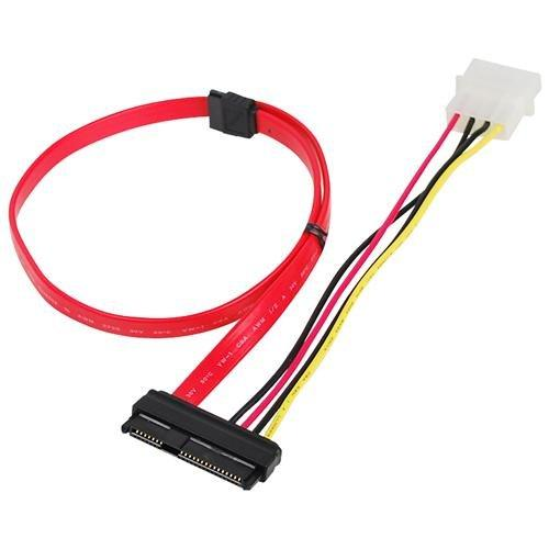 Siig CB-S20811-S1 Taa-sff-8482 To Sata Cable Cabl With Lp4 Power