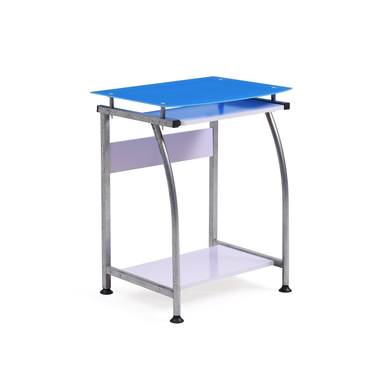 Hodedah Imports Glass Laptop Desk by Hodedah Import
