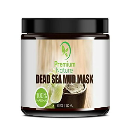 Dead Sea Mud Mask For Face And Body   8 8 Oz Melts Cellulite Treats Acne Strech Mark Removal   Deep Detox Cleaning Mask Pore Minimizer And Wrinkle Reducer   Natural Limited Edition Premium Nature