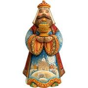 GDeBrekht 526513 10 in. King Balthazar In Wooden Keepsake Box