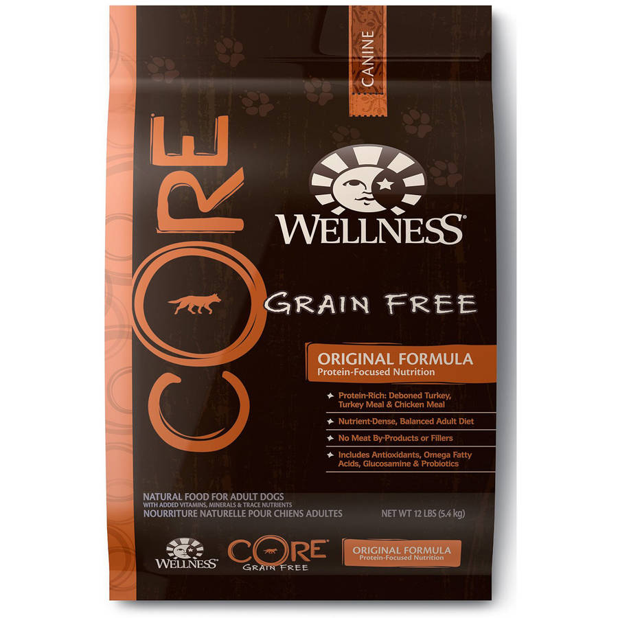 Wellness Core Natural Grain Free Dry Dog Food Original