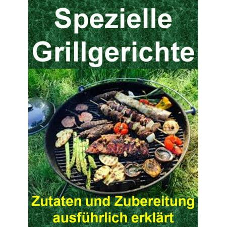 Spezielle Grillgerichte - eBook (Spezielle Sonnenbrillen)