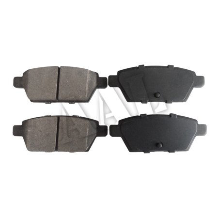 AAL Premium Ceramic Rear BRAKE PADS For 2005 2006 2007 FORD FUSION (Complete set 4 pieces)