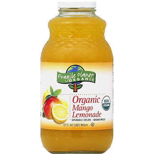 Generic Fragile Planet Organic Mango Lemonade, 3