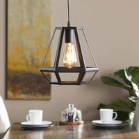 Southern Enterprises Donatello Caged Lantern Pendant Lamp