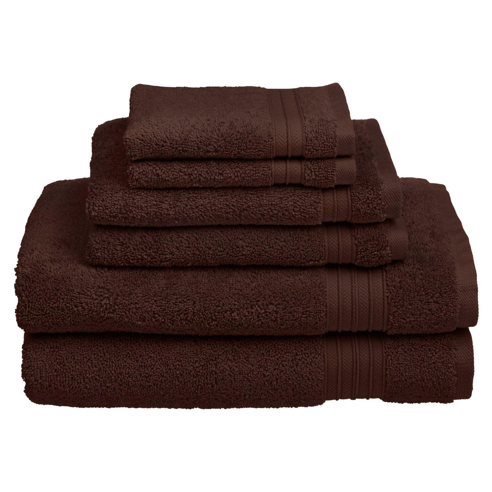 CLEARANCE Tidal Charcoal 100/% Cotton Bathroom Towels