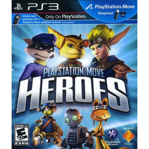 Heroes on the Move - Motion Control (PS3 / Move)