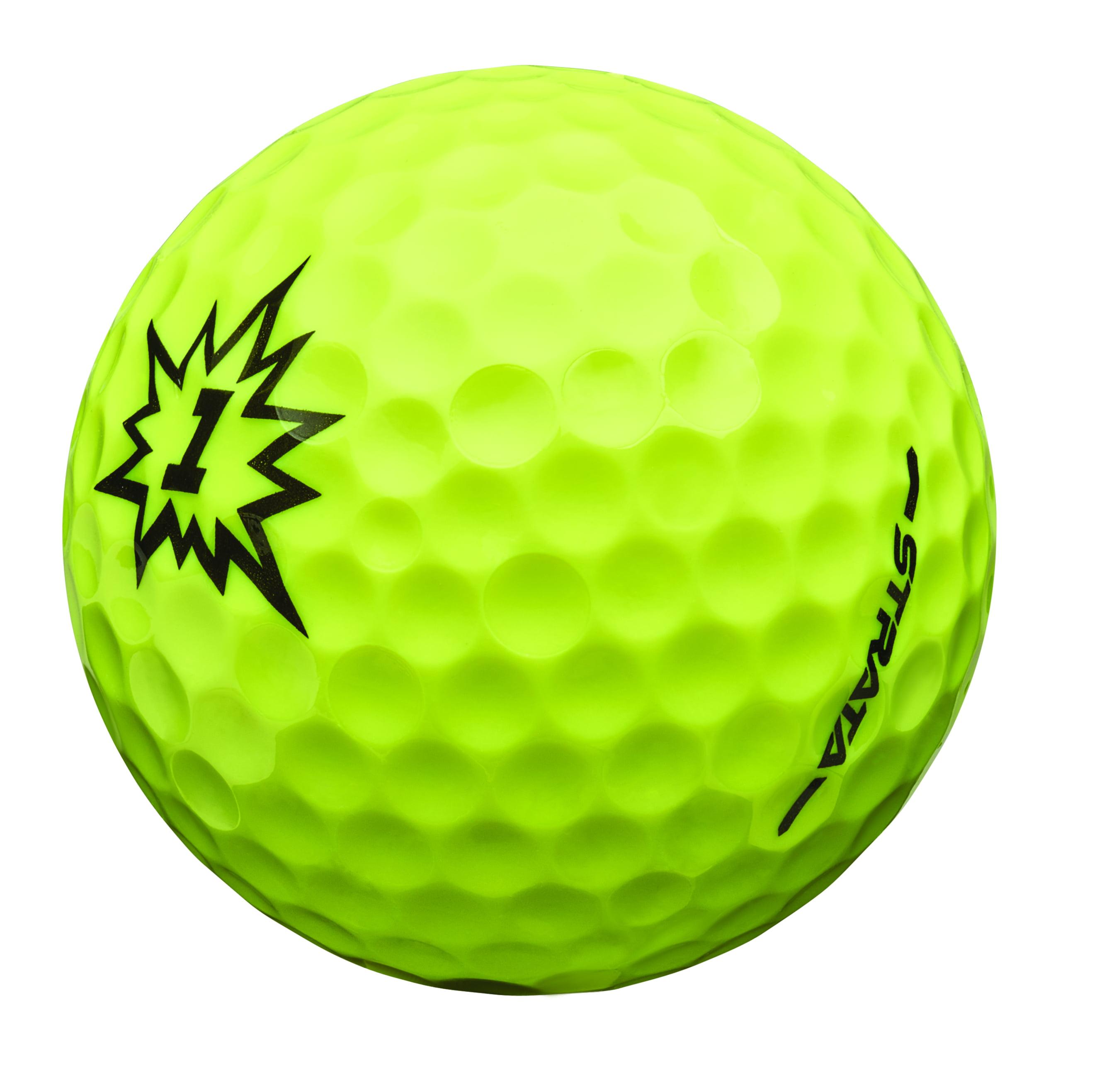 strata boom multi color 24 golf balls walmart com