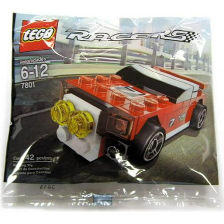 Racers Rally Racer Mini Set LEGO 7801 [Bagged] (Lego Mine Set)