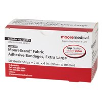 MooreBrand for Kids Decorated Adhesive Assorted Bandages-Box of 100