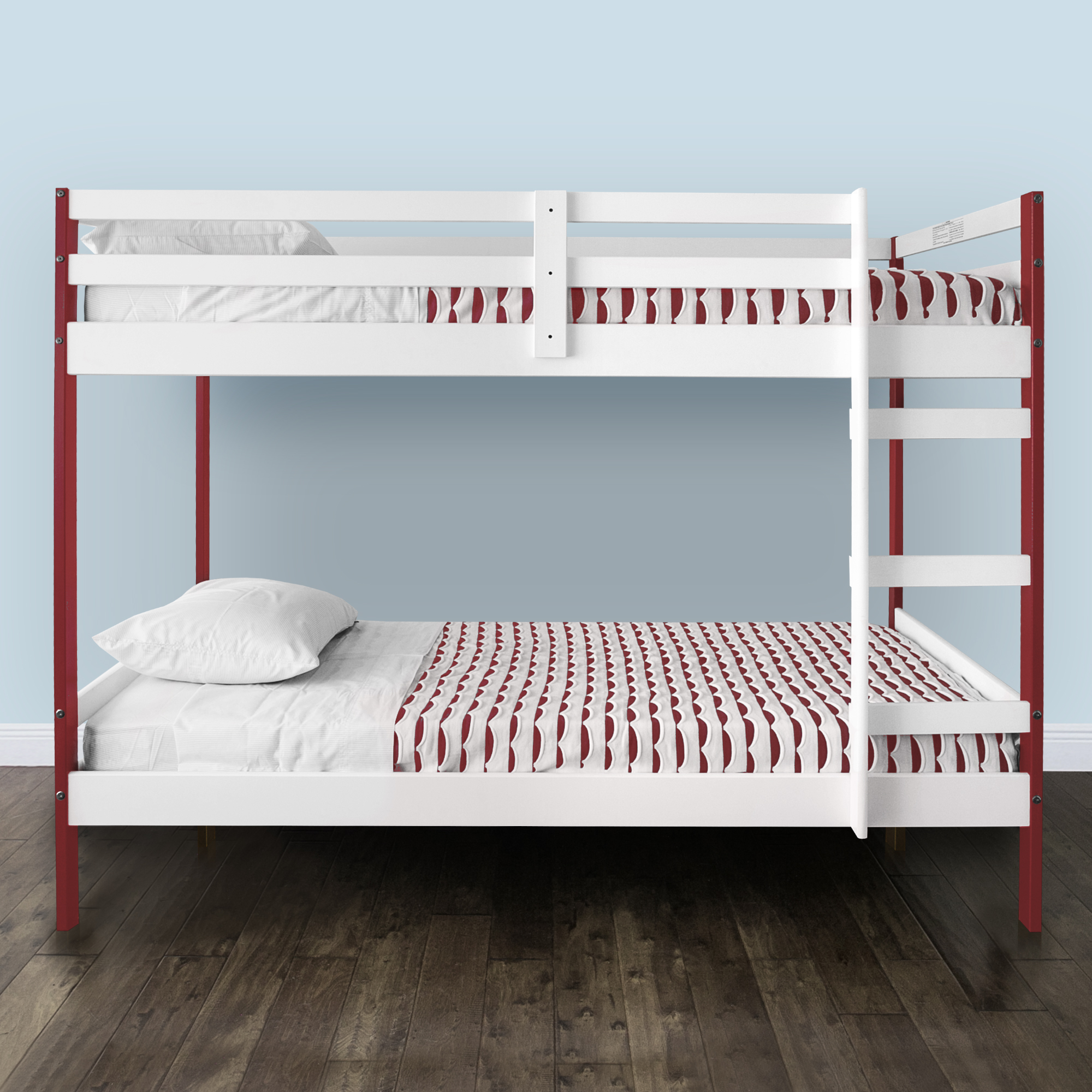 Letto Twin Over Bunk Bed Multiple Colors Walmart Com
