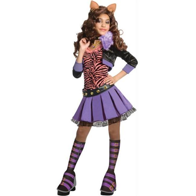 Costumes for all Occasions RU884902SM Mh Clawdeen Wolf Child Delx Sm