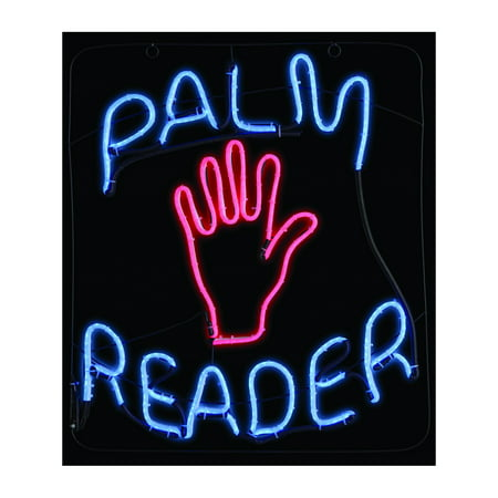 Palm Reader LED Neon Sign Halloween Decoration