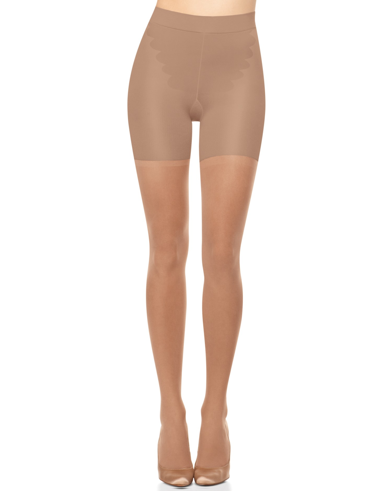 Spanx  All The Way Leg Support Pantyhose Style 101 Choose Size//Color