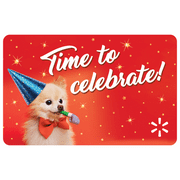 Celebration Time Walmart eGift Card