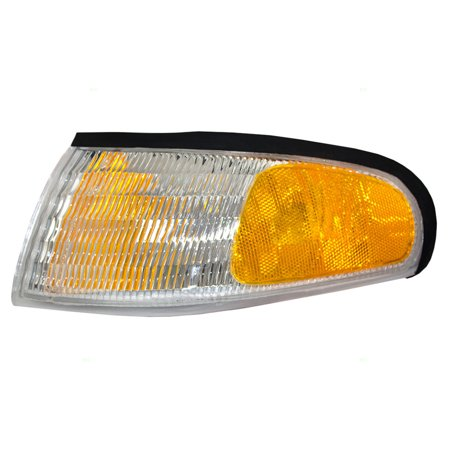 Drivers Park Signal Corner Marker Light Lamp Lens Replacement for Ford F4ZZ13201A ()
