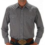 Panhandle Mens  Plaid Snap Shirt XL Multi