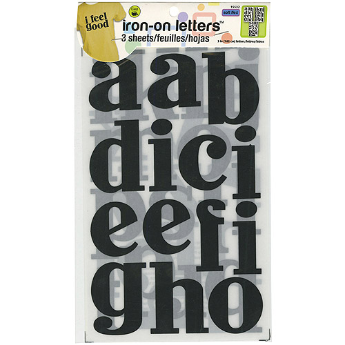 Dritz Soft Flex John Hancock Iron-On Letters, 3""