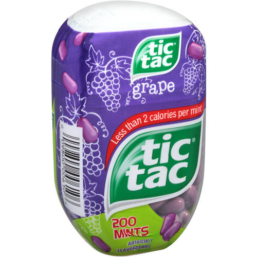 Tic Tac Grape Mints, 3.4 oz
