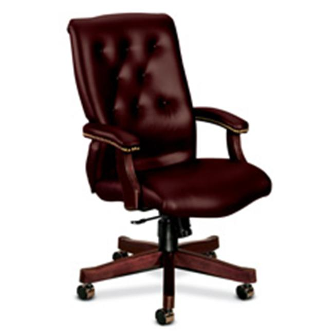 HON Company HON6541NEJ65 Exec High-Back Chair- 25-. 75inchx29-. 50inchx44-. 75inch- Vinyl- OXB