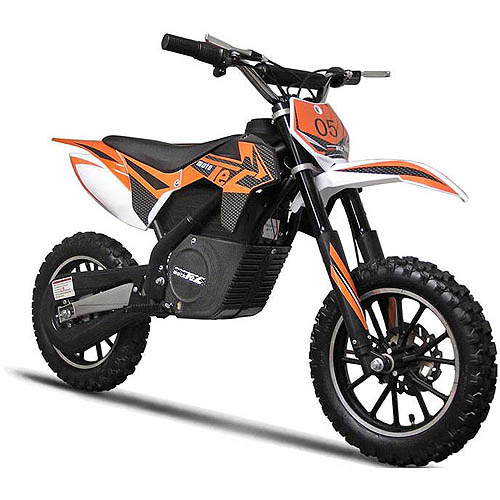 MotoTec 24V Electric Dirt Bike, Orange