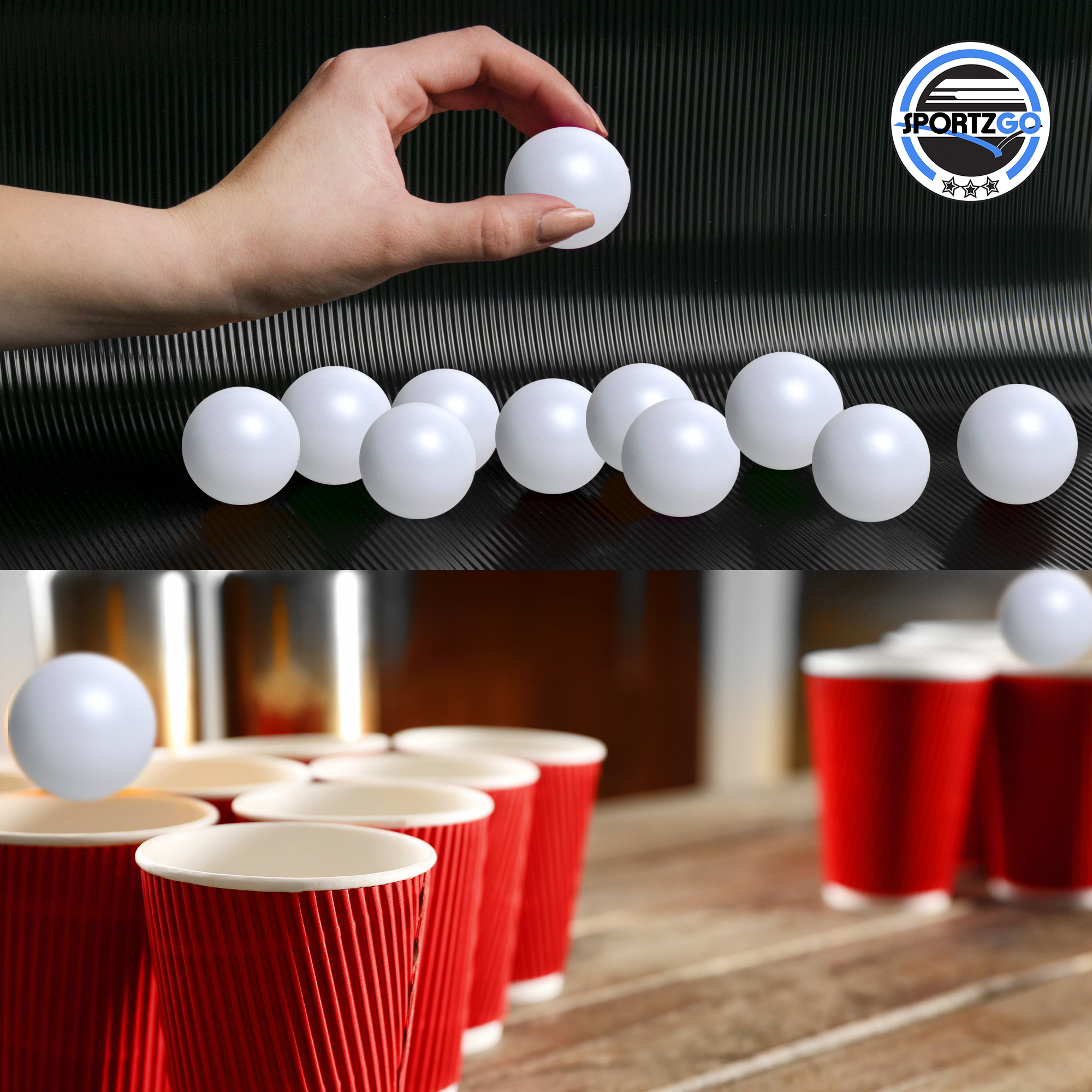 11 X 17 Beer Pong Beirut Drinking Game Official Laminated Rules Regs Poster Sporting Goods Other Table Tennis Ping Pong